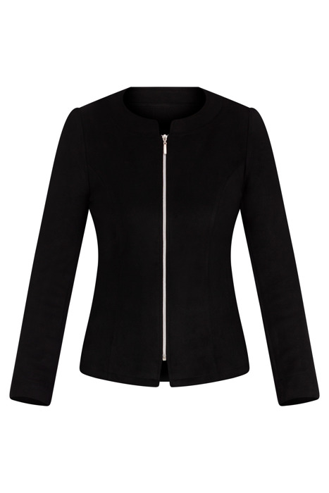 Bluzka typu żakiet Madora czarna 3506