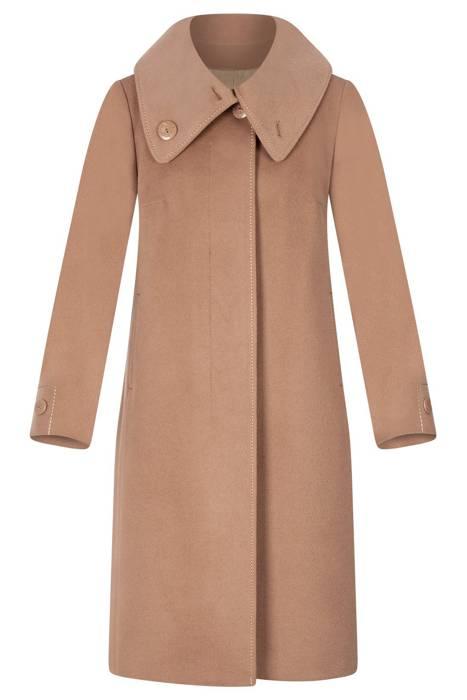 Długi płaszcz Caro Fashion 009 beż