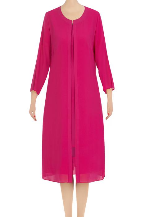 Elegancka sukienka damska Gabriela biskupi róż 3353