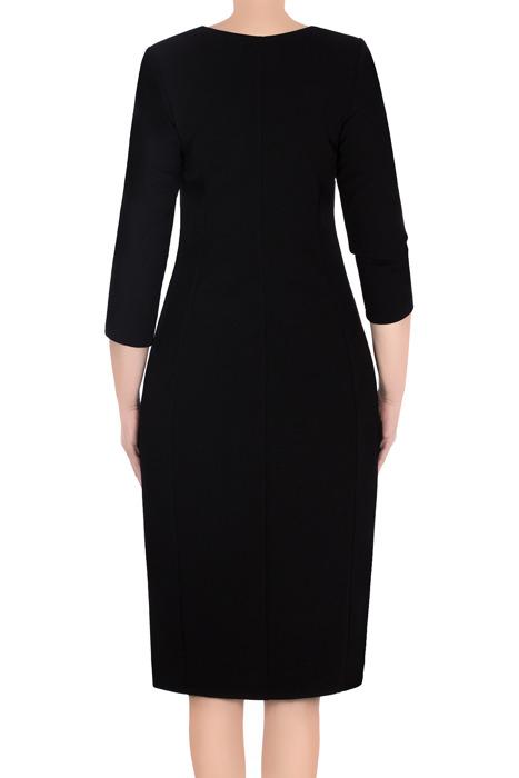 Klasyczna sukienka damska Lotos Ela czarna