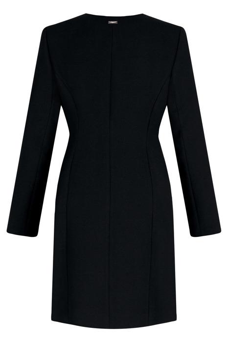 Klasyczny płaszcz Dagon 2500 czarny