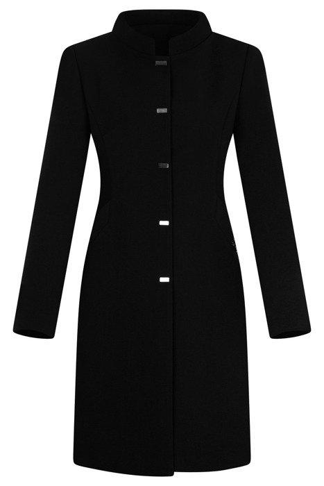 Klasyczny płaszcz Dagon 2979 czarny