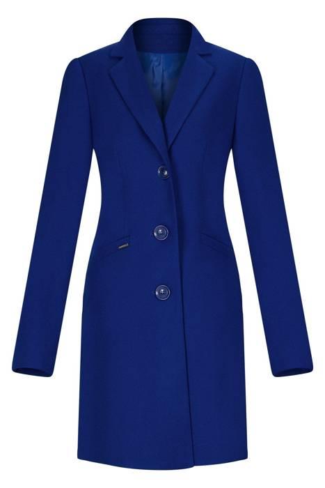 Klasyczny płaszcz dyplomatka Huna Paula chaber