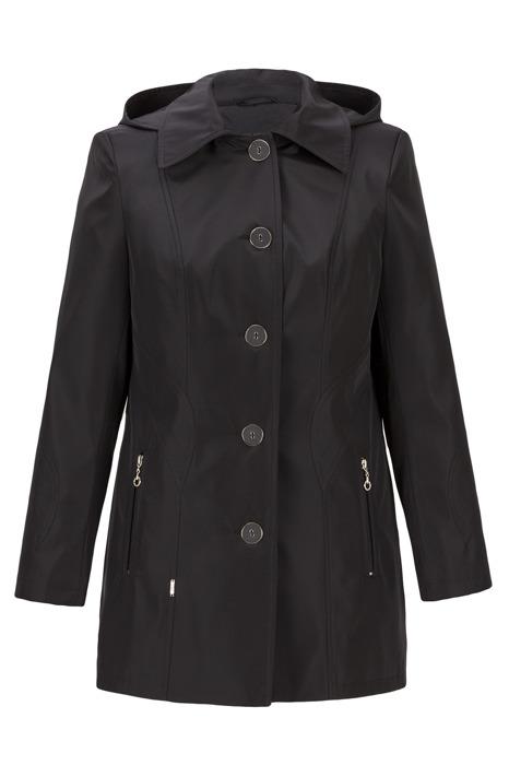 Płaszcz damski Malwina czarny