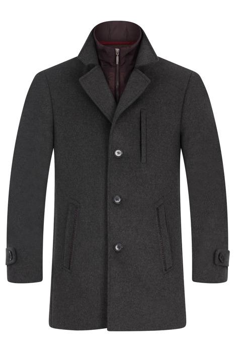 Płaszcz męski zimowy Lavard Ricard Brenero 26323 szary