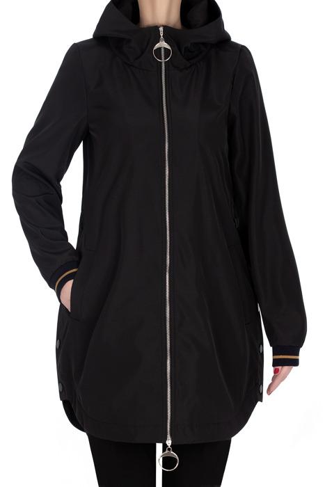 Płaszcz wiosenny, kurtka czarna 3165