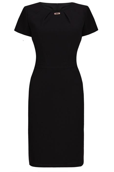 Sukienka Dagon 2158 klasyczna czarna
