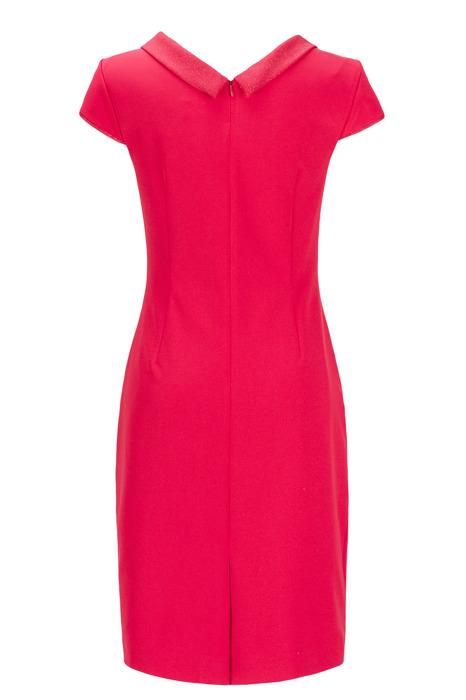 Sukienka Dagon 2177 czerwona