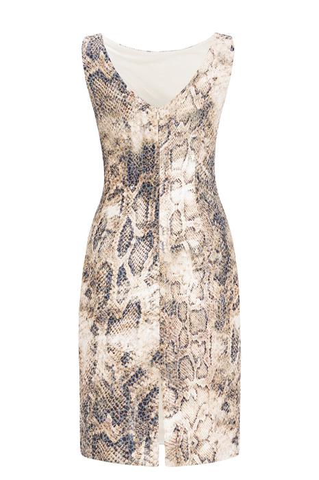 Sukienka Dagon 2226 w wężowy wzór